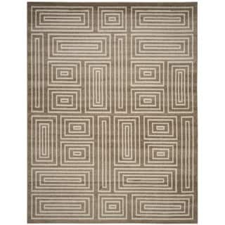 Safavieh Amherst Indoor/ Outdoor Wheat/ Beige Rug (9' x 12')