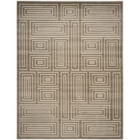 Safavieh Amherst Indoor/ Outdoor Wheat/ Beige Rug - 9' x 12'