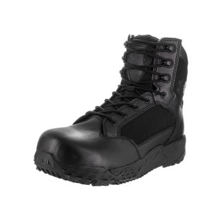 Under Armour Men's UA Stellar Tac Protect Black Leather Boots