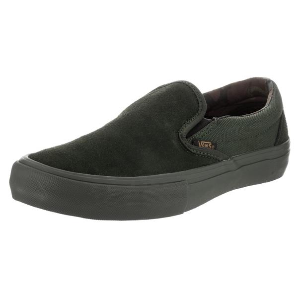 09551e9be5 Shop Vans Men s Camo Slip-on Pro Skate Shoe - Free Shipping Today ...