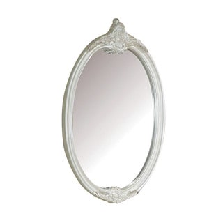 Acme Furniture Pearl White/Gold Brush Accent Mirror