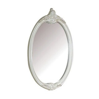 Acme Furniture Pearl White/Gold Brush Accent Mirror (2 options available)