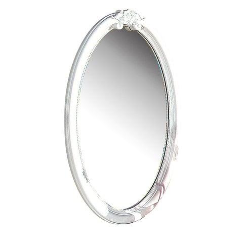 Acme Furniture Flora White Wood-framed Mirror
