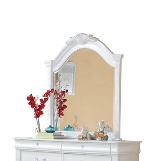 Acme Furniture Estrella White Pine Beveled Mirror