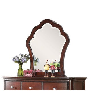 Acme Furniture Cecilie Pine Beveled Mirror