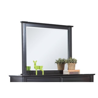 Acme Furniture Mallowsea Beveled Mirror with Pne Frame