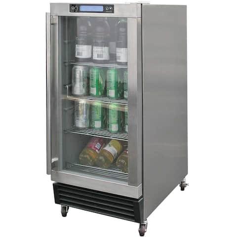 S/S Beverage Cooler, Outdoor Rated
