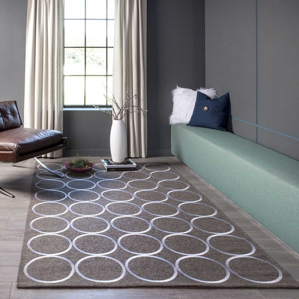 Momeni Cielo Hand-Woven Wool Blend Rug (8' X 10') - 8' x 10'