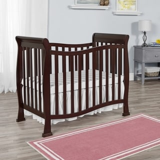 Dream on Me Piper 4-in-1 Convertible Mini Crib - Espresso
