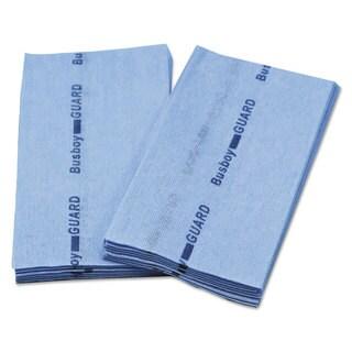 Cascades Busboy Guard Antimicrobial Foodservice Towels Blue 12 x 24 1/4 Fold 150/Carton