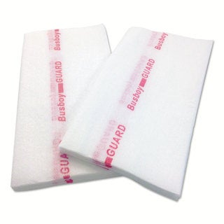 Cascades Busboy Guard Antimicrobial Towels White/Red 12 x 24 1/4 Fold 150/Carton
