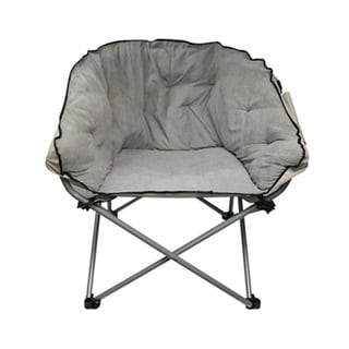 Grey Oversized Chair