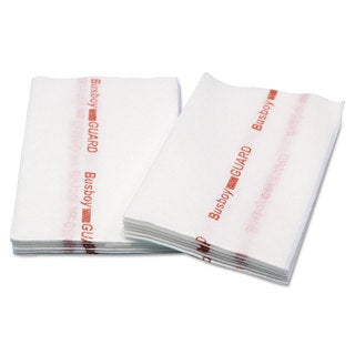 Cascades Busboy Guard Antimicrobial Towels White/Red 12 x 21 1/4 Fold 150/Carton