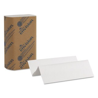 Georgia Pacific Professional Multifold Paper Towels 1-Ply 9 1/5 x 9 2/5 White 250/Pack 16 Packs/Carton
