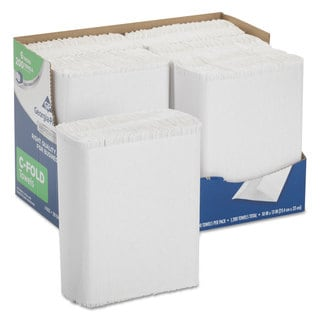 Georgia Pacific Professional Series Premium Paper Towels C-Fold 10 x 13 200/Box 6 Box/Carton