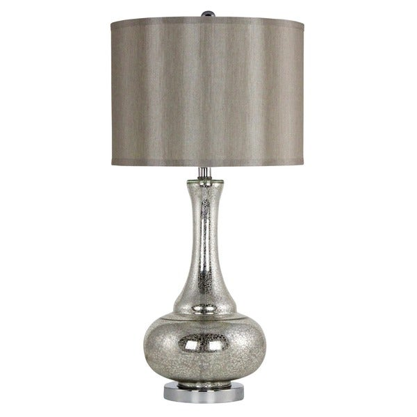 Claire Antique Mercury Glass Table Lamp