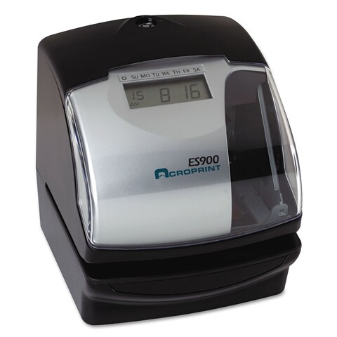 Acroprint ES900 Digital Automatic 3-in-1 Machine Silver and Black