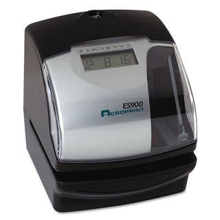Acroprint ES900 Digital Automatic 3-in-1 Machine Silver and Black|https://ak1.ostkcdn.com/images/products/13863983/P20504559.jpg?impolicy=medium