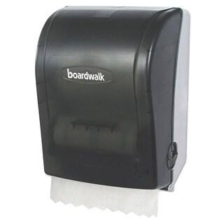 Boardwalk Hands Free Towel Dispenser 9 3/4 x 16 7/8 x 12 3/8 Smoke Black