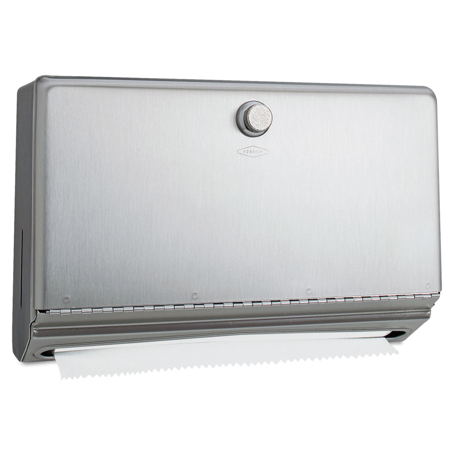 Bobrick Surface-Mounted Paper Towel Dispenser Stainless S...