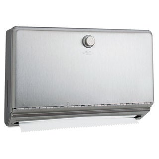 Bobrick Surface-Mounted Paper Towel Dispenser Stainless Steel 10 3/4 x 4 x 7 1/8