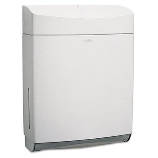 Bobrick Matrix Series Surface-Mounted Paper Towel Dispenser ABS Plastic Grey