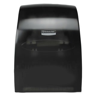 Kimberly-Clark Professional Sanitouch Hard Roll Towel Dispenser 12.63-inch wide x 10 1/5-inch diameter x 16.13-inch high Smoke