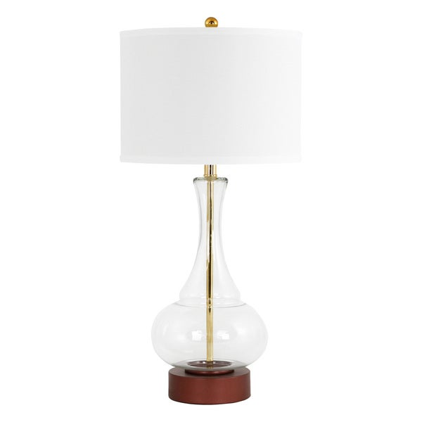 Rita Clear Glass Table Lamp