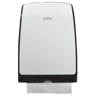 Kimberly-Clark Professional Slimfold Towel Dispenser 9 7/8-inch wide x 2 7/8-inch deep x 13 3/4h White