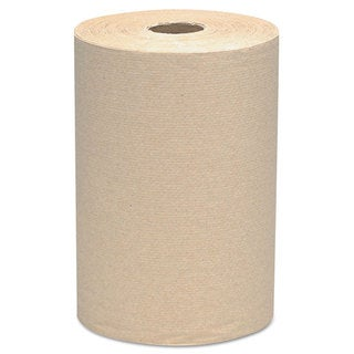 Scott Hard Roll 8 x 800 ft. Brown Towels (Pack of 6)