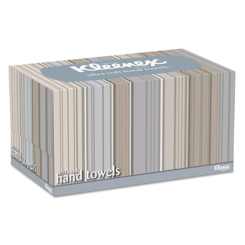 Kleenex Ultra Soft Hand Towels POP-UP Box White 70/Box 18...