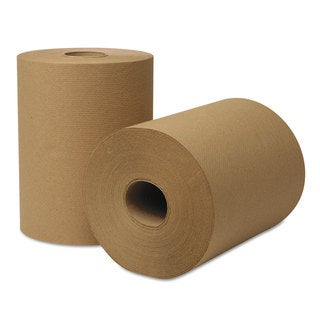 Wausau Paper EcoSoft Universal Roll Towels 425-feet x 8 in Natural 12 Rolls/Carton