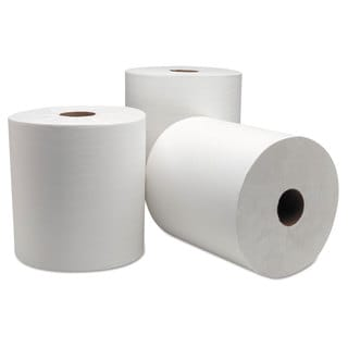 Wausau Paper DublNature Universal Roll Towel 8 inches x 1000 ft White 6/Carton