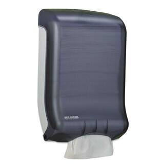 San Jamar Ultrafold Multifold/C-Fold Towel Dispenser Classic Black 11 3/4 x 6 1/4 x 18