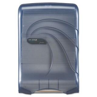 San Jamar ULetterafold Multifold/C-Fold Towel Dispenser Oceans Blue 11 3/4 x 6 1/4 x 18