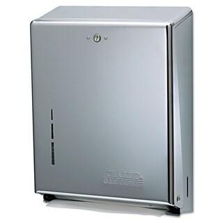 San Jamar C-Fold/Multifold Towel Dispenser Chrome 11 3/8 x 4 x 14 3/4