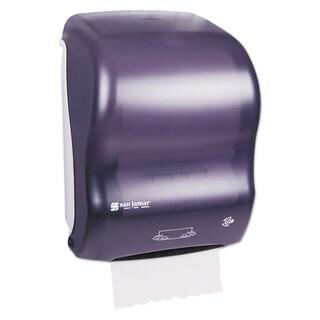 San Jamar Mechanical Hands-Free Towel Dispenser 11 4/5-inch wide x 9 1/4-inch deep x 16 1/5-inch high Black