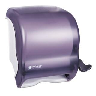 San Jamar Element Lever Roll Towel Dispenser Classic Black 12 1/2 x 8 1/2 x 12 3/4