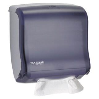 San Jamar Ultrafold Fusion C-Fold & Multifold Towel Dispenser 11 1/2x5 1/2x11 1/2 Black