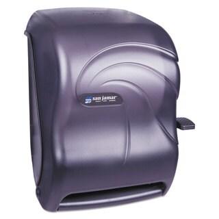 San Jamar Lever Roll Towel Dispenser Oceans Black Pearl 12 15/16 x 9 1/4 x 16 1/2