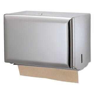 San Jamar Singlefold Paper Towel Dispenser Chrome 10 3/4 x 6 x 7 1/2