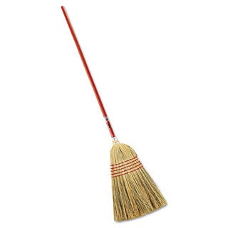 Rubbermaid Commercial Standard Corn-Fill Broom 38 inches Handle Red