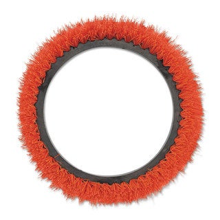 Oreck Commercial Orbiter Smooth Texture Brush 12-inch Diameter Orange