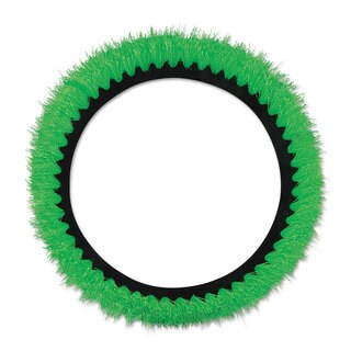 Oreck Commercial Orbiter All-Surface Brush 12 inches dia Green