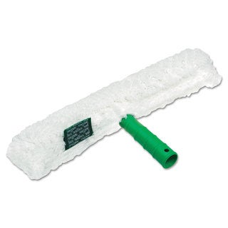 Unger Original Strip Washer with Green Nylon Handle White Cloth Sleeve 14 Inches