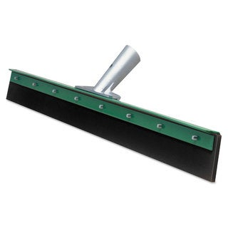 Unger Aquadozer Heavy Duty Floor Squeegee 30 Inch Blade Green/Black Rubber Straight