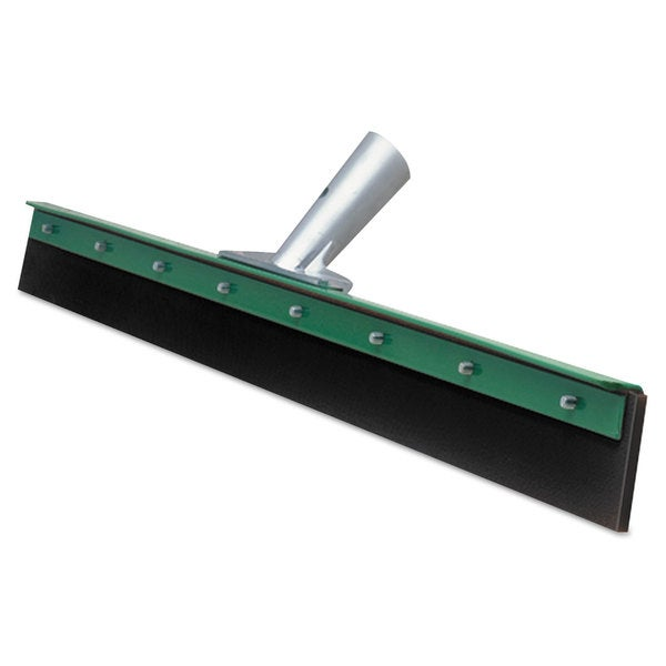 Unger Aquadozer Heavy Duty Floor Squeegee 30 Inch Blade Green/Black Rubber Straight