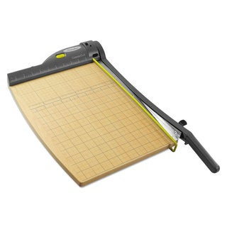 Swingline ClassicCut 15-Sheet Laser Trimmer Metal/Wood Composite Base 12 x 15