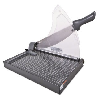 Swingline Heavy-Duty Low Force Guillotine Trimmer 40 Sheets Metal Base 10 1/2 x 17 1/2
