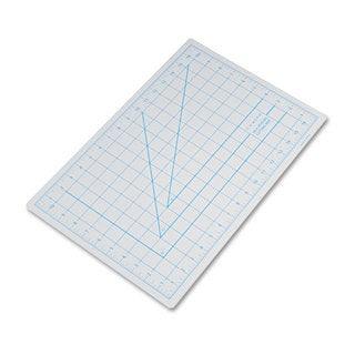 X-ACTO Self-Healing Cutting Mat Nonslip Bottom 1-inch Grid 12 x 18 Grey